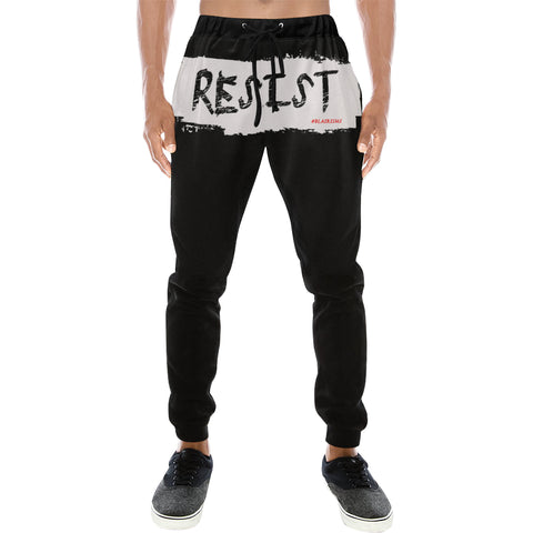 WHITE RESIST JOGGERS