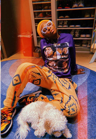 THE COLOR PURPLE #SAVAGE Crewneck Pullover Sweatshirt