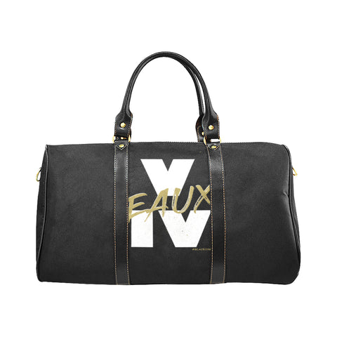 WHITE/GOLD V EAUX IV LARGE TRAVEL BAGS