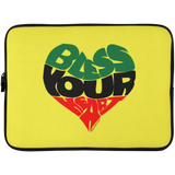 BLESS YOUR HEART RBG Laptop Sleeve - 15 Inch