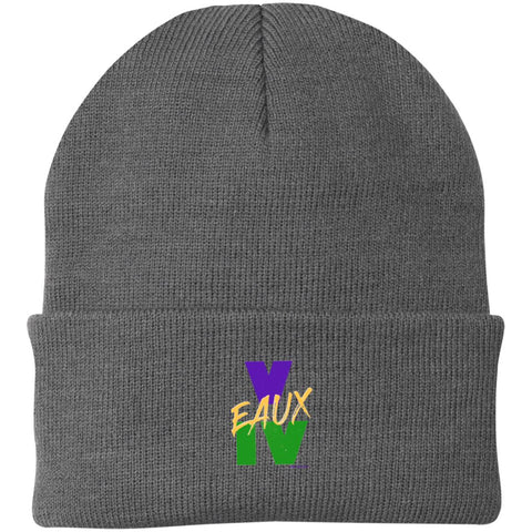 V EAUX IV MG Knit Cap