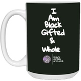 Black, Gifted, & Whole WHT 15 oz. White Mug