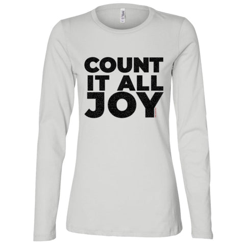 COUNT IT ALL JOY Women's Longsleeve