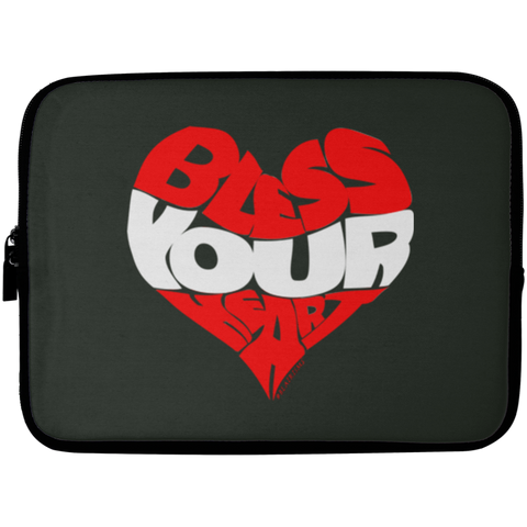BLESS YOUR HEART RW Laptop Sleeve - 10 inch