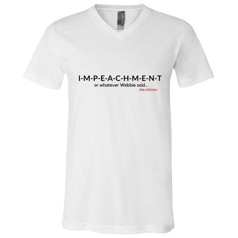 IMPEACHMENT BLACK Boy's V-Neck