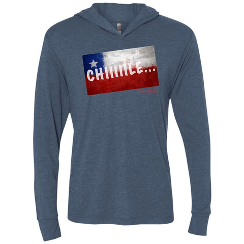 CHILE Unisex Longsleeve Hooded T-Shirt