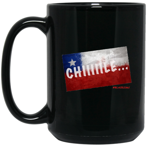 CHILE 15 oz. Black Mug