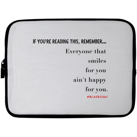 SMILES FOR YOU Laptop Sleeve - 10 inch