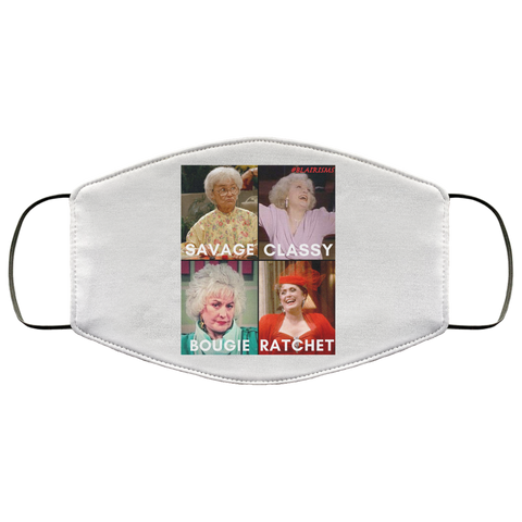 GOLDEN GIRLS #SAVAGE Face Mask