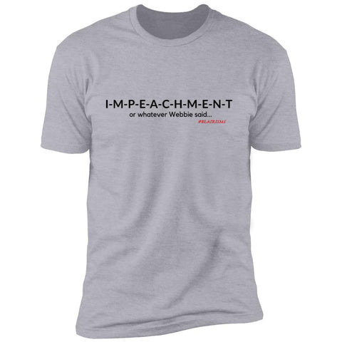 IMPEACHMENT BLACK Men's Crew