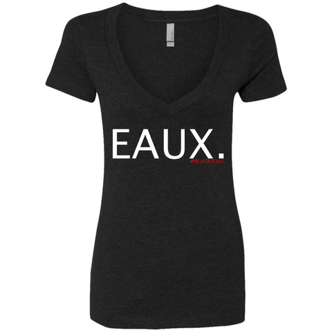 EAUX. Women's Deep V-Neck