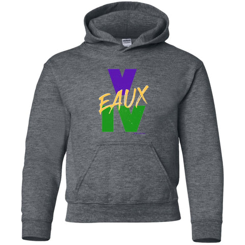 V EAUX IV (MG) Youth Pullover Hoodie