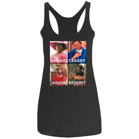 TV/MOVIES #SAVAGE Racerback Tank
