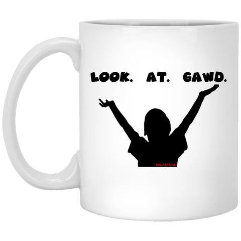 LOOKATGAWD1 11 oz. White Mug
