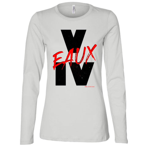 V EAUX IV RED Women's Longsleeve