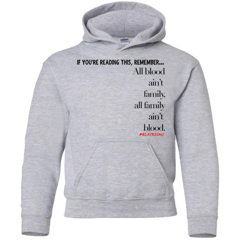 Family Youth Pullover Hoodie