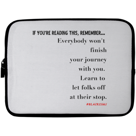 AT THEIR STOP Laptop Sleeve - 10 inch