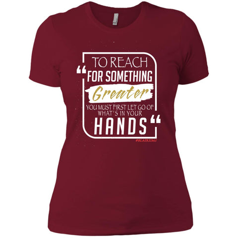 To Reach For Something Greater white gold Women's Crew
