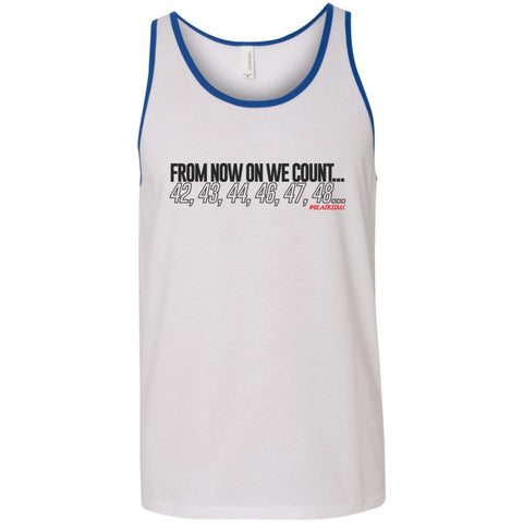 From Now On We Count Unisex Tank