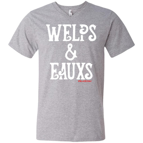 WELPS & EAUXS Men's V-Neck
