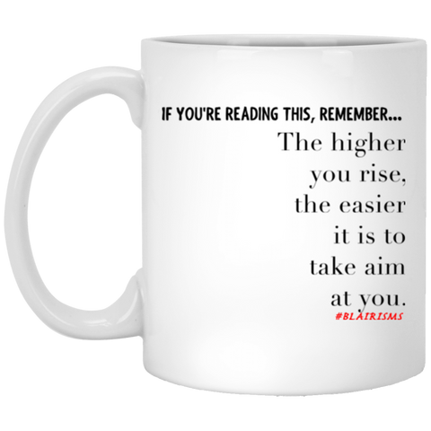 Higher You Rise XP8434 11 oz. White Mug