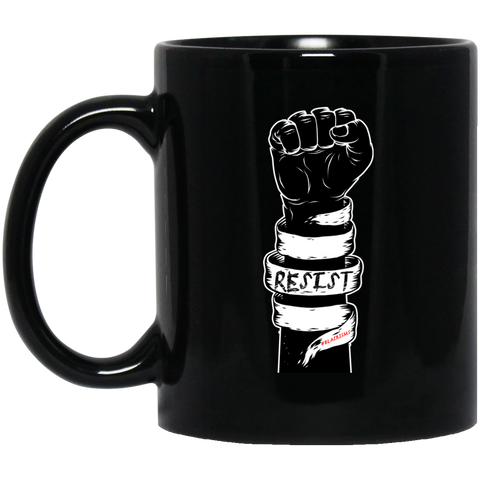 RESIST 11 oz. Black Mug