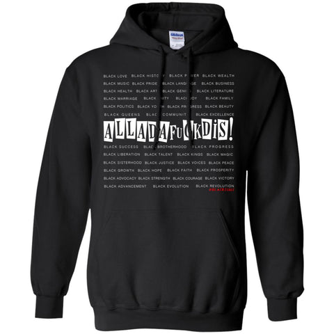 BLACK MAGIC ALLADAFUCKDIS Pullover Hoodie