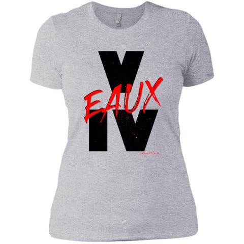 V EAUX IV RED Women's Crew
