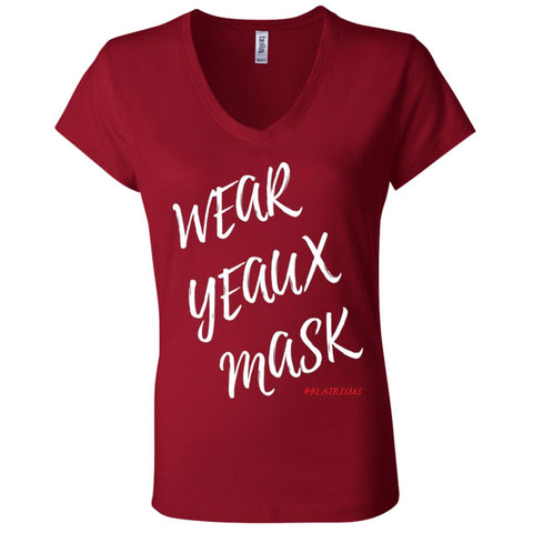 WEAR YEAUX MASK! Women's V-Neck