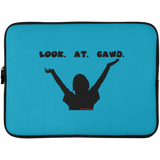 LOOK AT GAWD Laptop Sleeve - 15 Inch