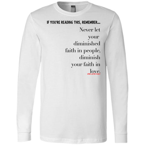 Faith In Love Men's Longsleeve