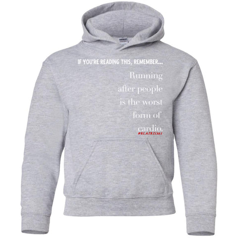 Cardio Youth Pullover Hoodie