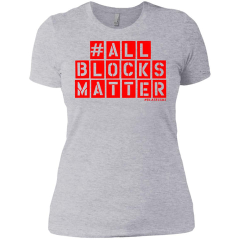 #ALLBLOCKSMATTER (RED) Women's Crew