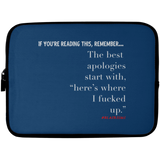 THE BEST APOLOGIES Laptop Sleeve - 10 inch