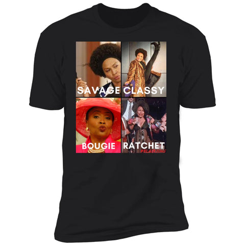 JENIFER LEWIS #SAVAGE Men's Crew