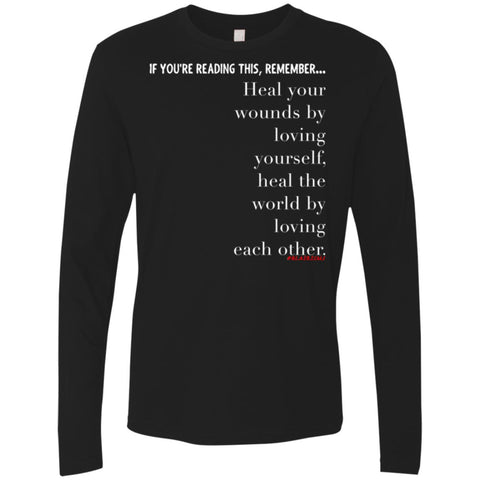 HEAL THE WORLD Men's Longsleeve