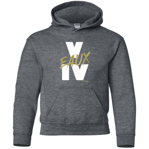V EAUX IV (WG) Youth Pullover Hoodie