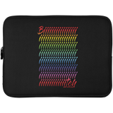 BIIIIIIIIIIIIIIIITCH RAINBEAUX Laptop Sleeve - 15 Inch