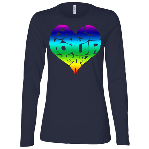 BLESS YOUR HEART (RB) Women's Longsleeve