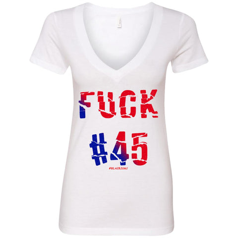 FUCK45 Women's Deep V-Neck