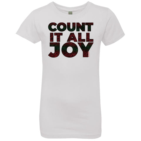 COUNT IT ALL JOY Girl's Crew