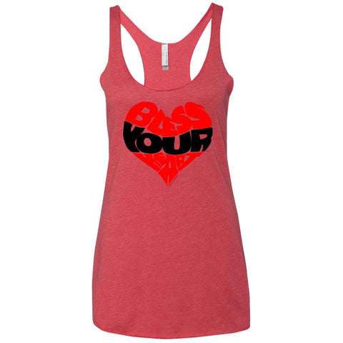 BLESS YOUR HEART BLK Racerback Tank