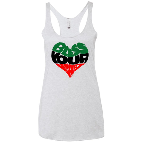 BLESS YOUR HEART BLACK Racerback Tank