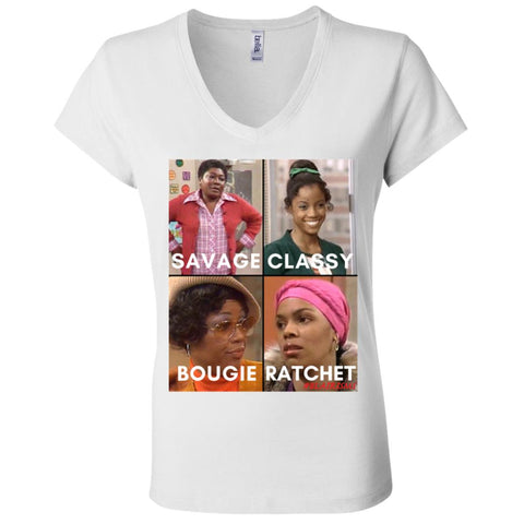GOODTIMES #SAVAGE COLLECTION Women's V-Neck