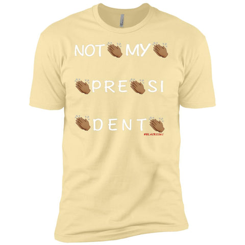 NOT MY PRESIDENT Men's Crew