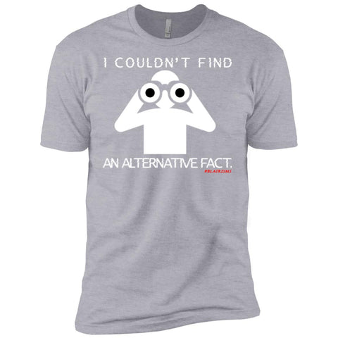 I COULDN'T FIND AN ALTERNATIVE FACT (WHT) Men's Crew