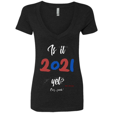 2021 Women's Deep V-Neck