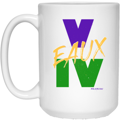 V EAUX IV MG 21504 15 oz. White Mug