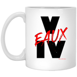 V EAUX IV RED 11 oz. White Mug