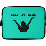 LOOK AT GAWD Laptop Sleeve - 10 inch